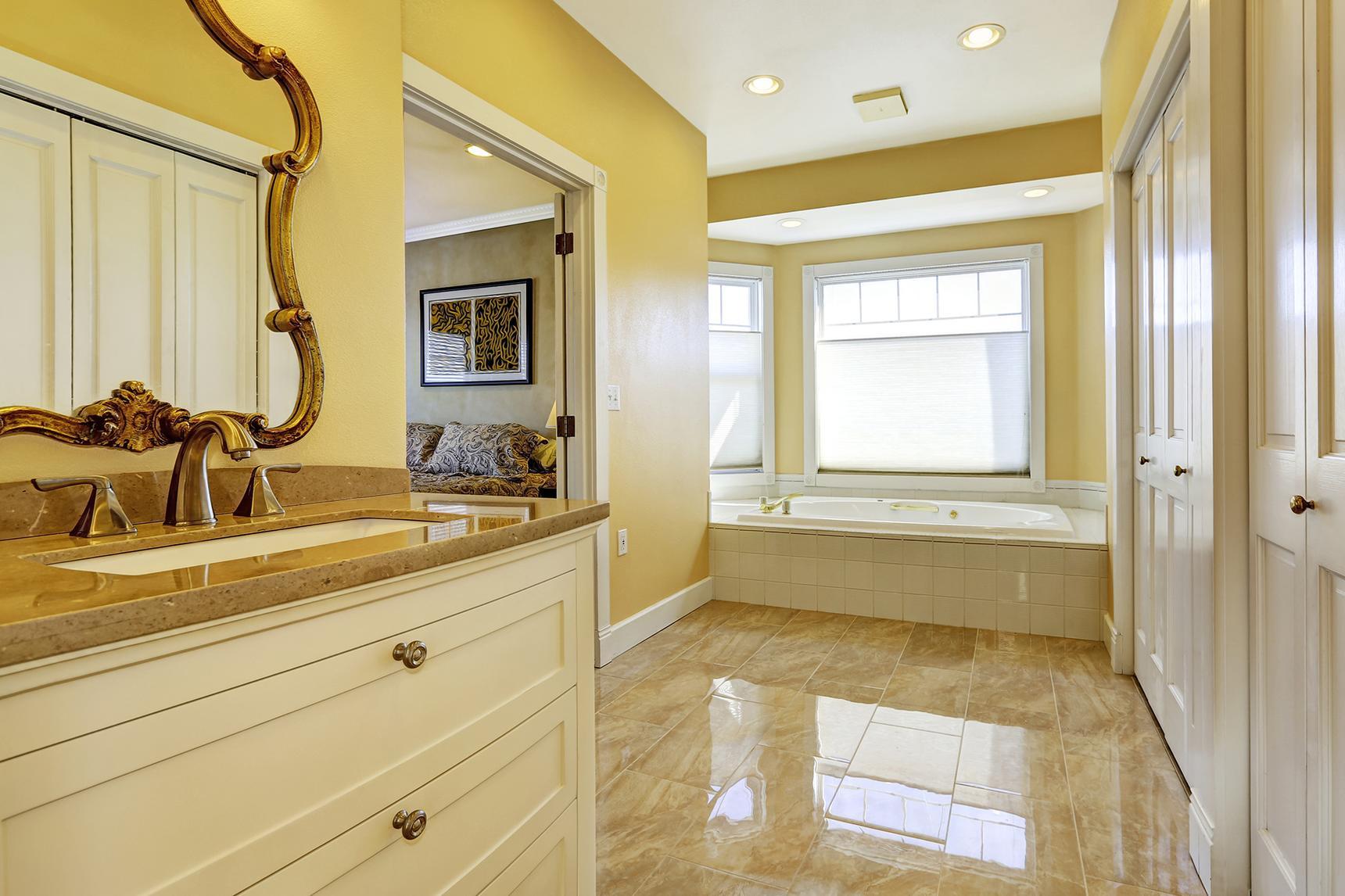 Bathroom flooring materials