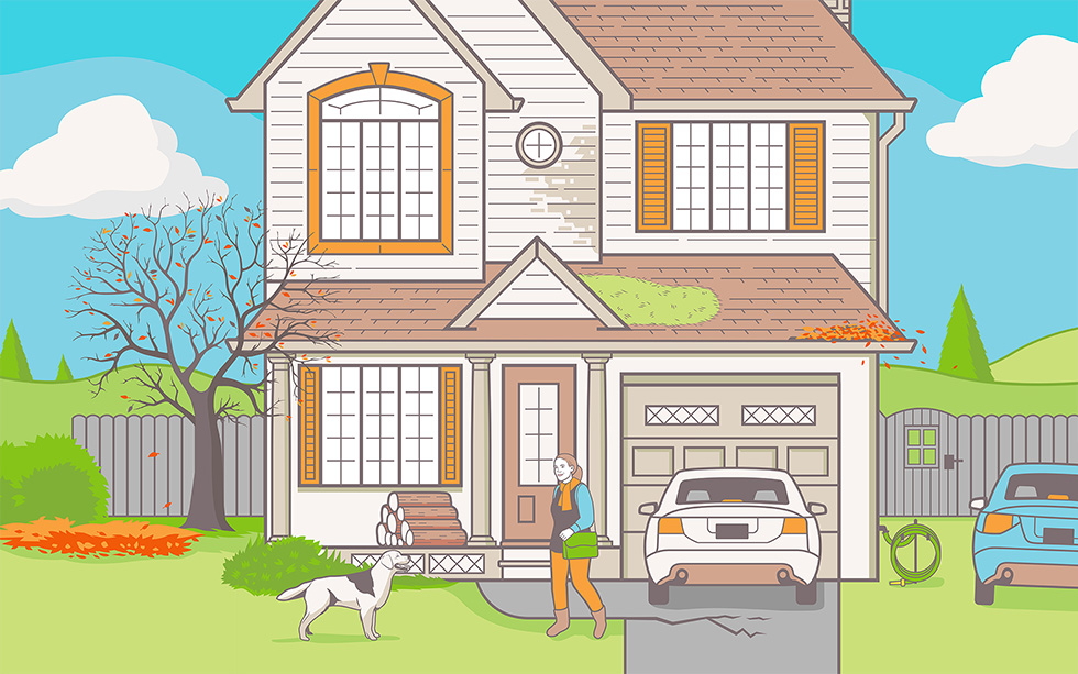 Advice For New Homeowners To Avoid Mistakes Like Parking On The Grass