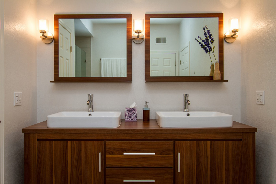 Bath vanities and cabinets bathroom cabinet ideas houselogic - Designs for bathroom cabinets ...