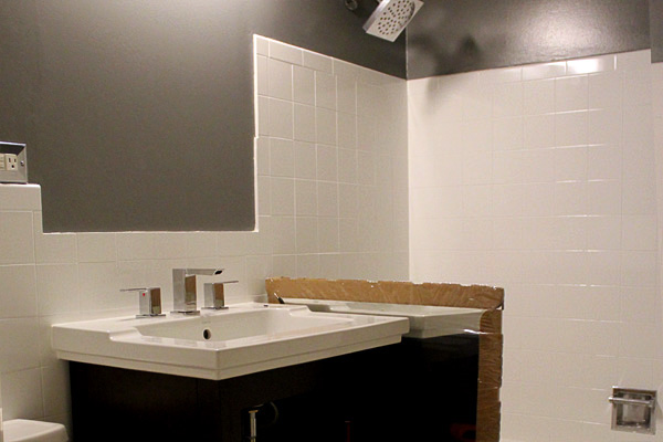 Bathroom Remodel Under 3000 small bath goes from drab to fab for under $3,000
