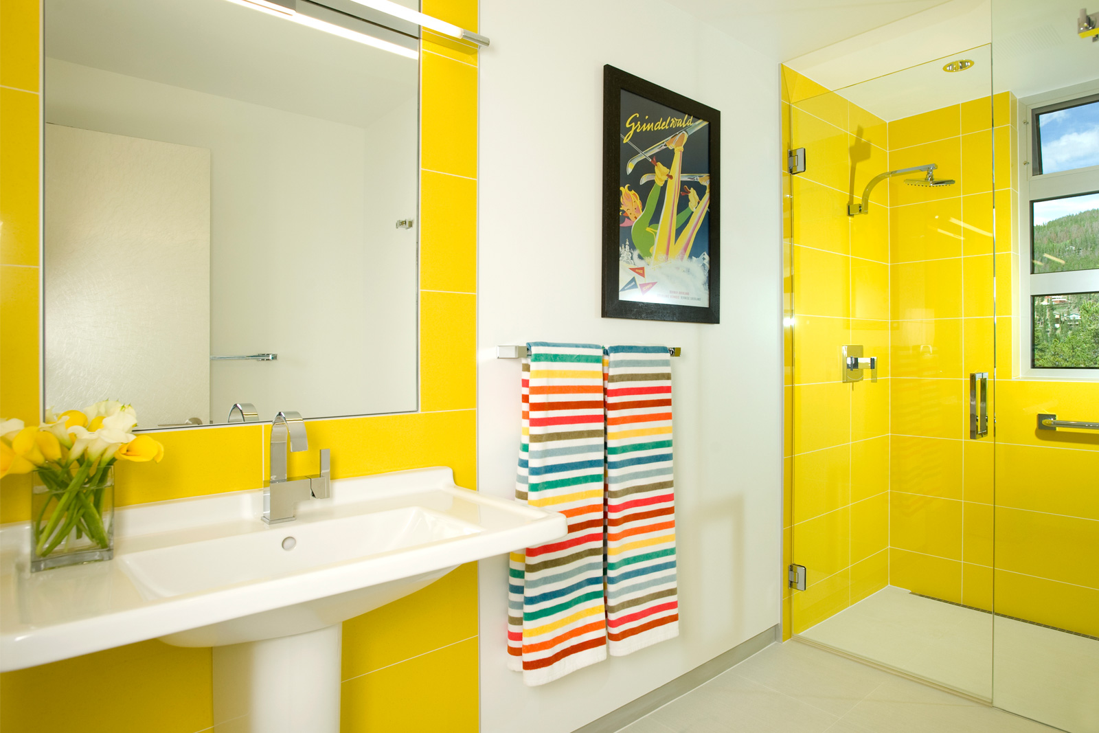 Bathroom Ideas Yellow bathroom ideas | bathroom remodel ideas | houselogic bathrooms