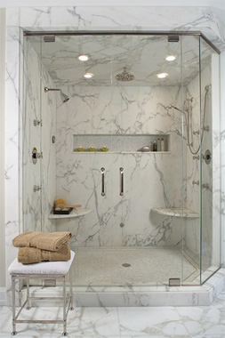 Shower Designs Ideas charming farmhouse style walk in shower design Best Ideas For Bathroom Showershis And Hers