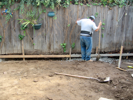 digging your own french drain save money and your back with