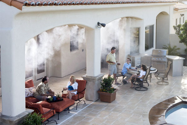 Misting system for your patio