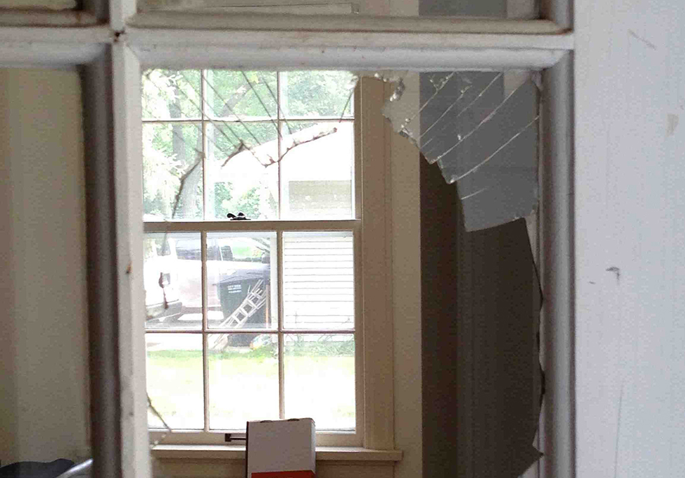 Bathroom Window Repair broken window: repair or replace | houselogic window repair tips
