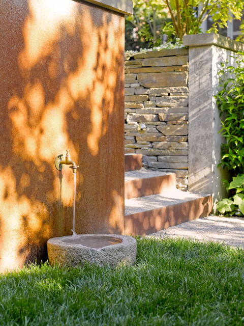 Outdoor Fountain for Dogs | Building a Dog Run