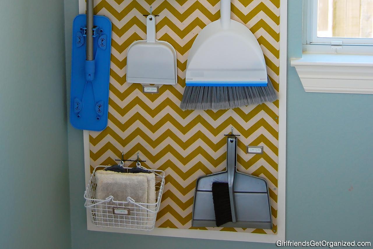 Laundry Room Organization Ideas Pegboard Shelving