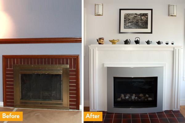 Convert Fireplace To Gas Convert Wood Fireplace To Gas Houselogic