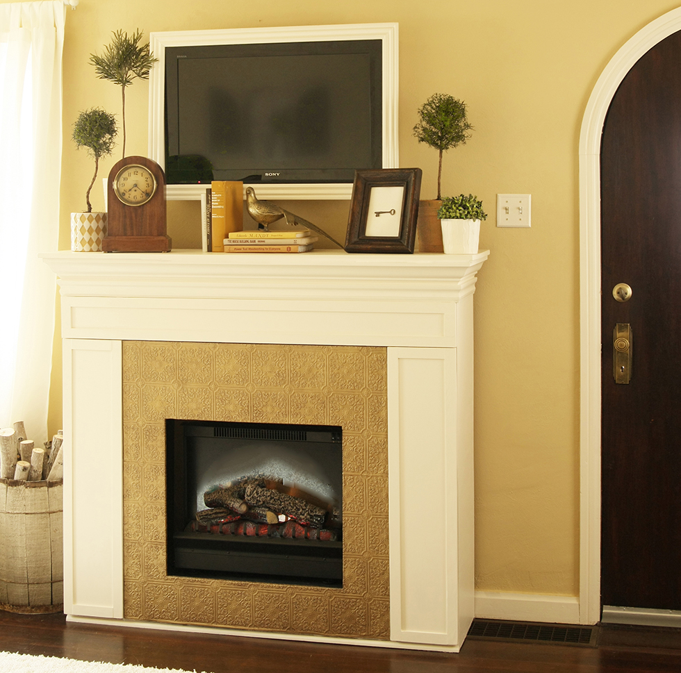 Get ideas to convert a fireplace to gas