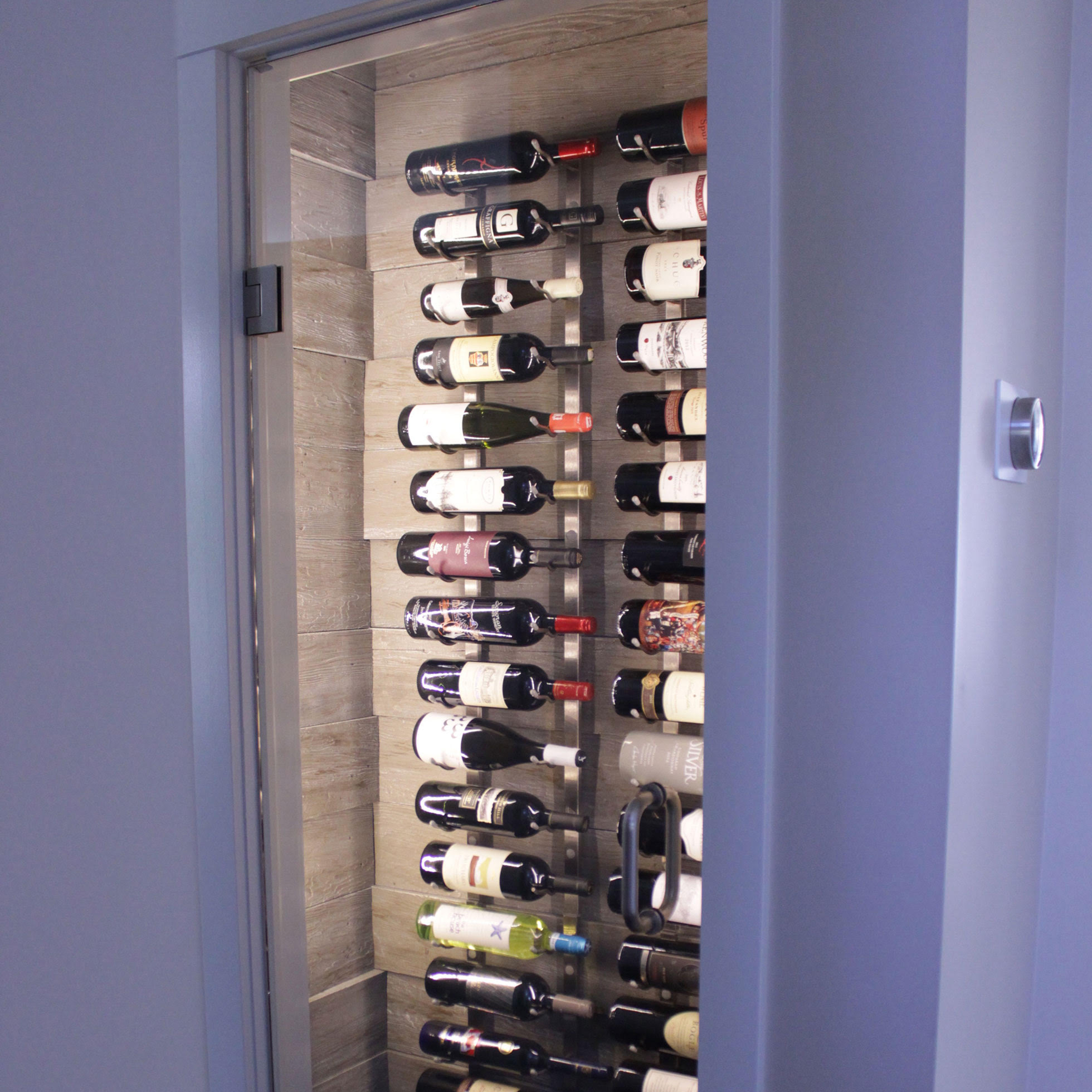 DIY wine room