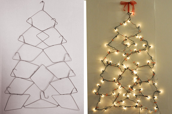 9 Alternate DIY Christmas Tree Ideas