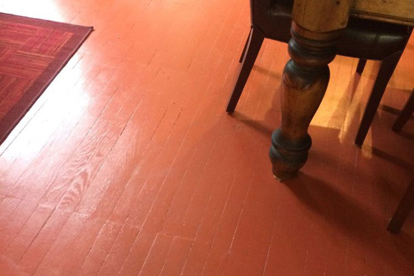 Painted wood floor ideas entrancing best 25 painted wood for Best paint for wooden floors