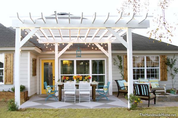build a pergola diy pergola houselogic. Black Bedroom Furniture Sets. Home Design Ideas