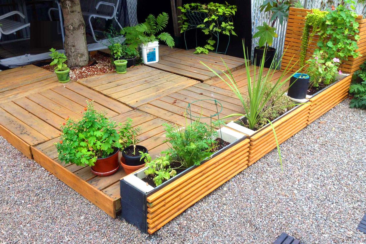 Easy landscaping ideas low maintenance yard ideas for Easy garden design ideas