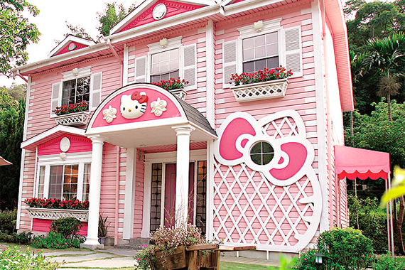 10 wacky exterior paint photos that will shock you - Exterior House Colors