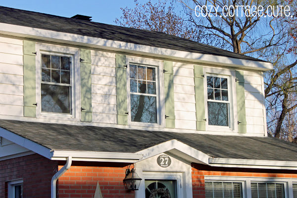 DIY Shutters Add Curb Appeal