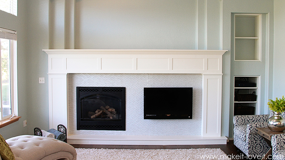 Fireplace Design refacing a fireplace : Before and After Fireplace Makeovers | Fireplace Surrounds ...