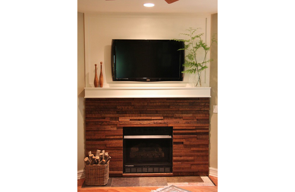 before and after fireplace makeovers fireplace surrounds houselogic - How To Build A Fireplace Surround