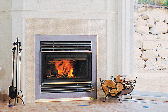 Energy-efficient fireplaces