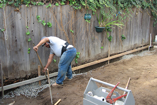 how to install a french drain french drain installation houselogic