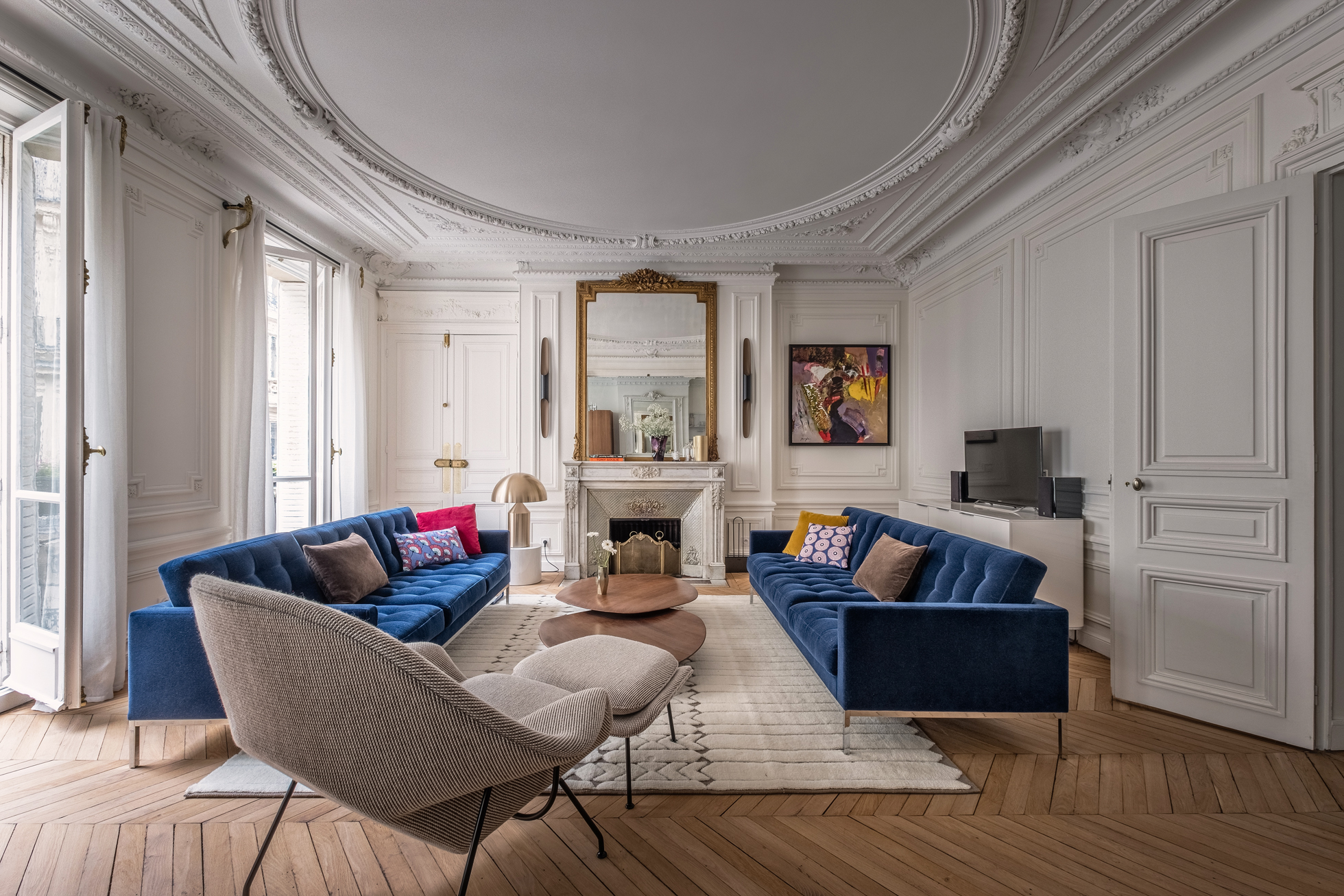 French style living room in Paris