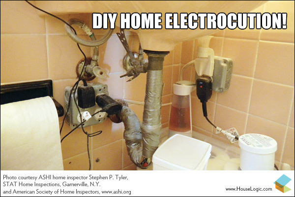 Funny Fail Diy Home Electrocution