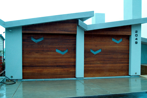 Mid Century Modern Garage Doors With Windows modern metal garage door