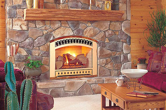 Gas Fireplace Inserts Pros And Cons Of Ventless Gas