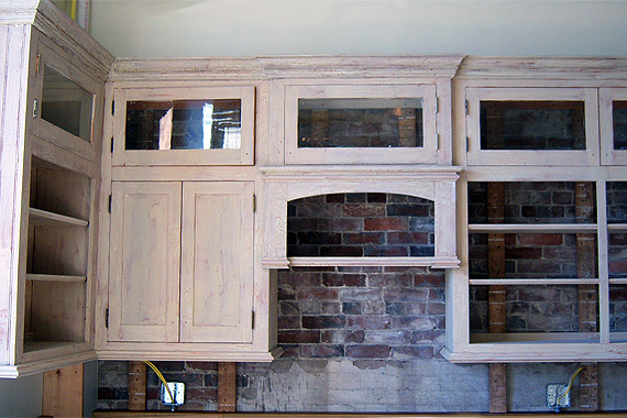 salvaged kitchen cabinets.  Green Kitchen Cabinets That Are Eco friendly