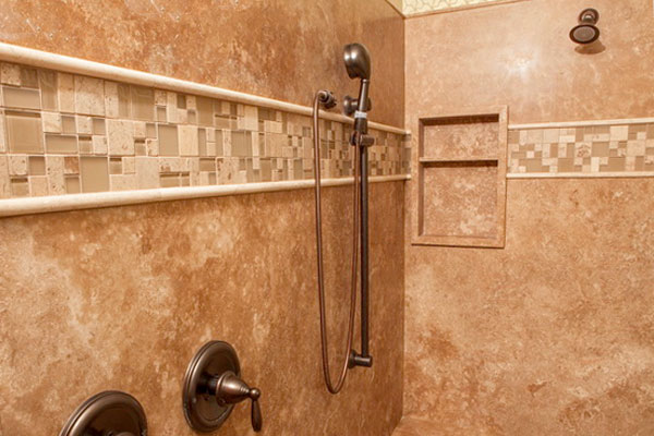 Bathroom Grout groutless tile | no grout tile | groutless backsplash