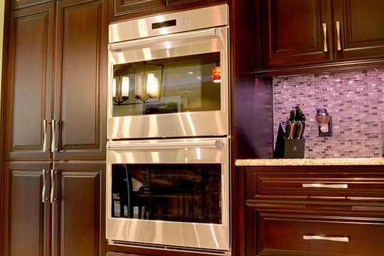 Guides wall ovens wall oven facts houselogic home for Eye level oven kitchen designs