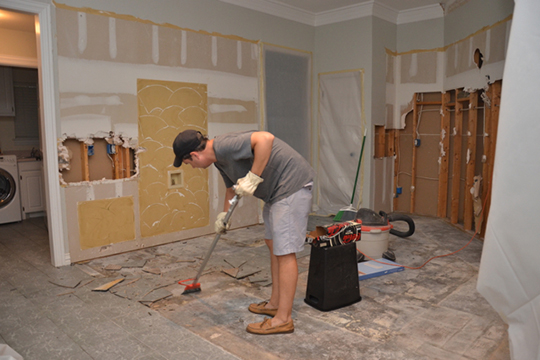 House remodeling how long does it take to remodel a house for Remodeling old homes