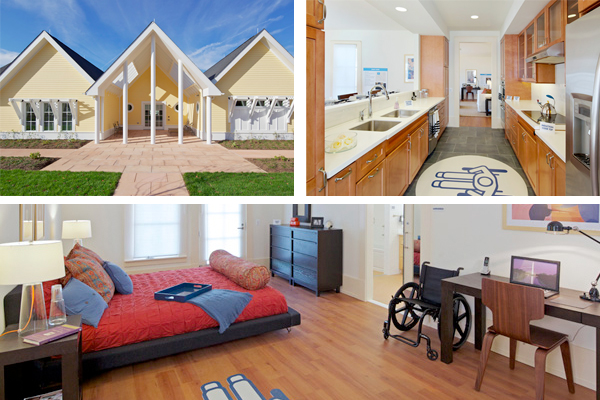 Innovative housing puts universal design to work for for How to find handicap accessible housing
