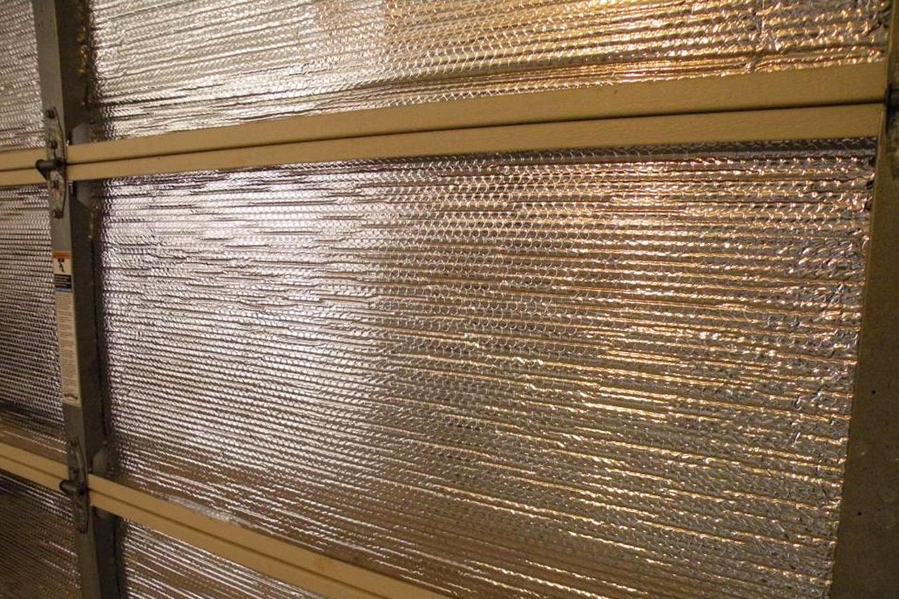Garage Door Insulation How To Insulate A Garage Door