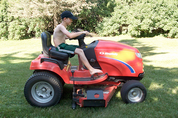 How Old Is Enough To Mow The Lawn