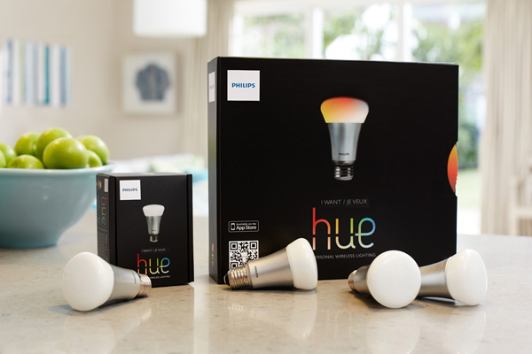 The Philips Hue lightbulb