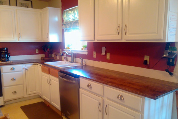 DIY Kitchen Countertops Kitchen Countertop Options - Contact paper for kitchen countertops