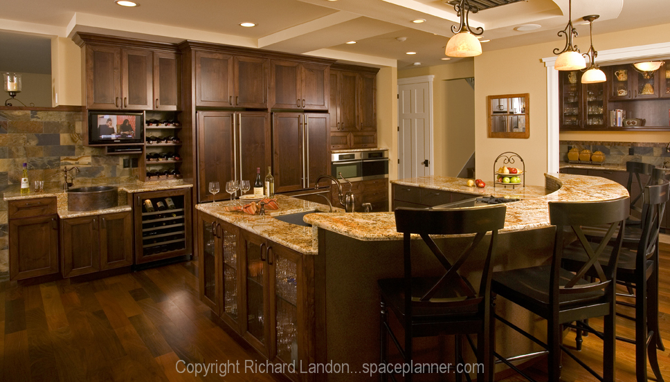 Scullery kitchen in a private home