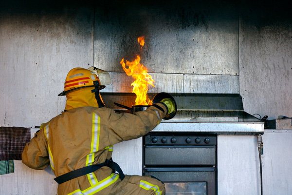 How To Prevent A Home Kitchen Fire