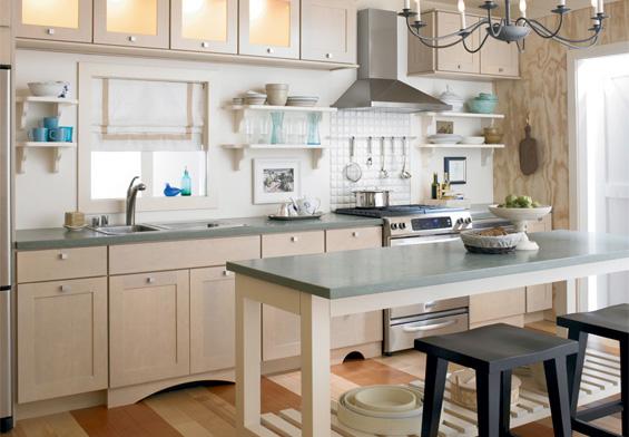 Plan kitchen remodel houselogic kitchen remodeling tips for Best color for kitchen cabinets for resale