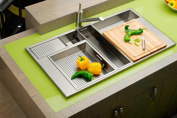 kitchen sink design.  Coolest Kitchen Sinks on the Planet