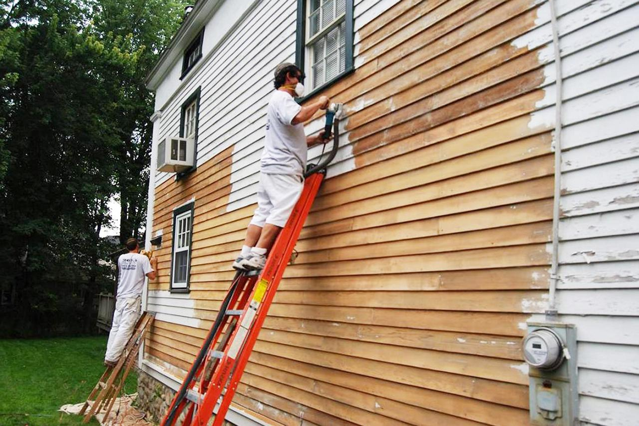 How To Remove Old Paint From Wood Siding