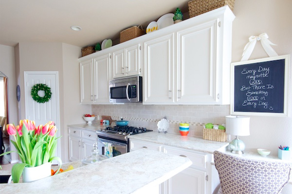 White Kitchen Makeovers Kitchen Makeover Goes White With Paint And Laminate Part 82