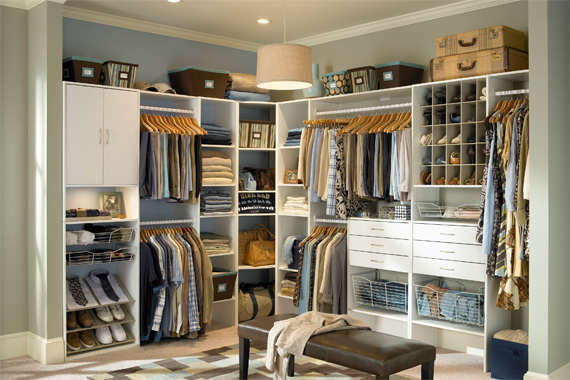 Features for a master closet master closet renovation