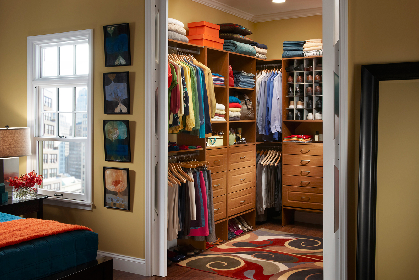 master closet layout organizing your master closet houselogic - Master Closet Design Ideas