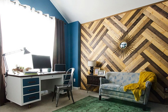 Wood Wall Paneling Ideas wood paneling: new spins on an american classic