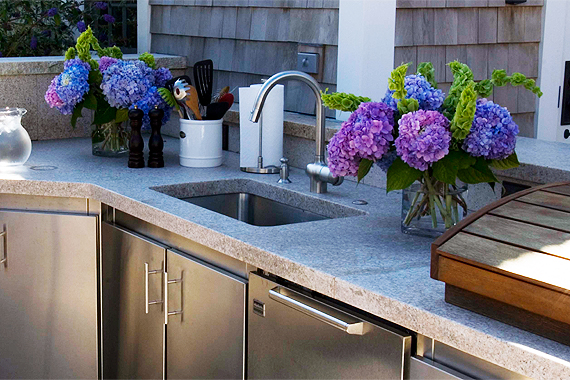 Outdoor Kitchen Sinks Outdoor sink guide sinks for your outdoor kitchen houselogic workwithnaturefo