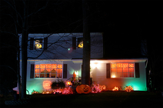 Interior and Exterior Lights | Outdoor Halloween Decorations