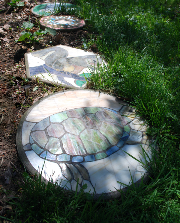DIY patio pavers