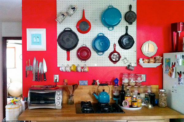 Does Pegboard Kitchen Storage Really Work